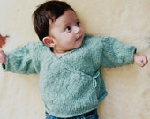Organic Cotton Kimono Wrap for Baby