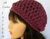 Instant Download Crochet Pattern Plum Pudding Textured Cloche permission to sell finished product