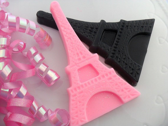 10 EIFFEL TOWER SOAP Favors - Eiffel Tower Party Favor, Eiffel Tower Birthday, Eiffel Tower Baby Shower, Wedding (Favor Tags Included)