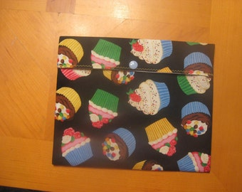 Reusable Sandwich Bag - Cupcake Commotion