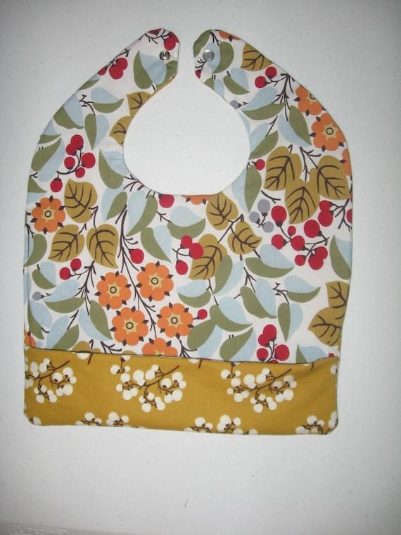 Double-Sided Pocket Bib - Blossom