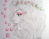 Art Print - Flower Child