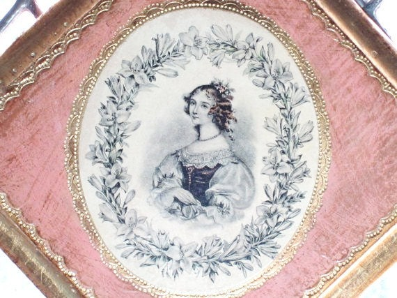 Victorian Women Wall Art To The Most Beautiful Lady In The World, Love Florence