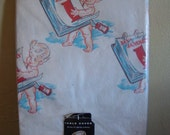 Vintage New Year Baby Paper Tablecloth/Table Cover