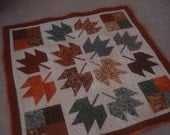 Fall Leaves Wall Hanging/Table Topper