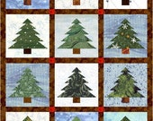 Items similar to Pine Tree Quilt Block Pattern, Multi-Size PDF on Etsy : pine tree quilts - Adamdwight.com