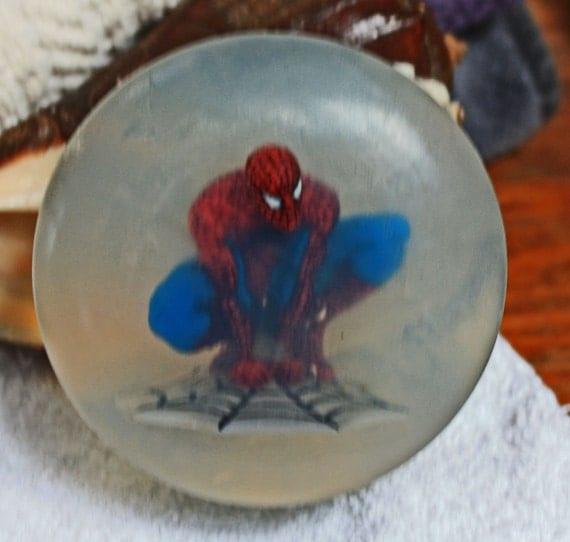 Spiderman in Soap