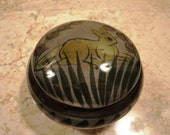Mexican Signed Vanity Dish