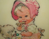 Beautiful Vintage Baby Picture