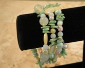 "Beaded Bracelet - ""IT'S A WRAP"""