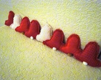 Eight Stuffed Bell Ornaments