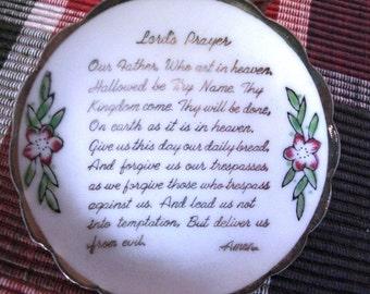 Miniature Lord's Prayer Tea Set