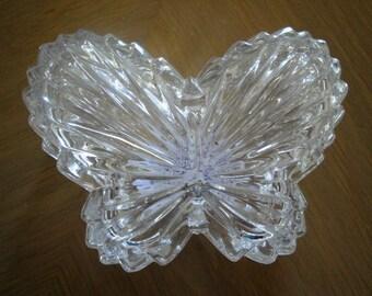 Butterfly Crystal Trinket Box