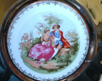 Decorative Plate with Stand - Made in Japan