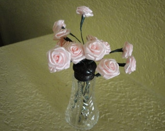 Pepper Shaker with Roses