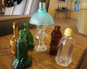 Set of 6 Collectible Bottles