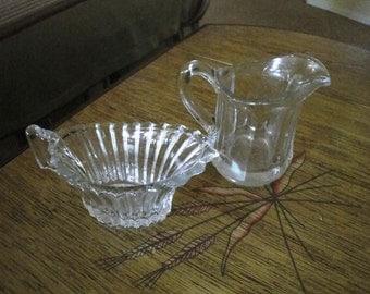 2 Petite Glass Pitchers