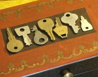 Vintage Keys to the Treasure Box