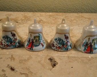 Set of Four Bradford Ornaments