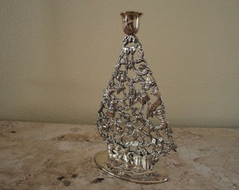 Silverplated Candlestick Holder