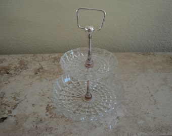 Two-Tiered Ring and Jewelry Holder