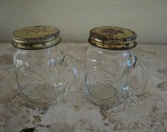 Golden Harvest Salt and Pepper Shakers
