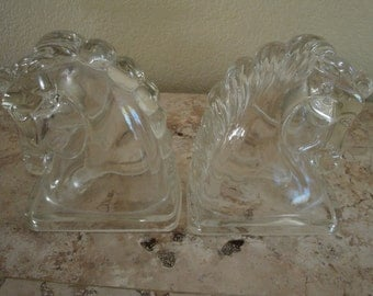 Horse Head Book Ends