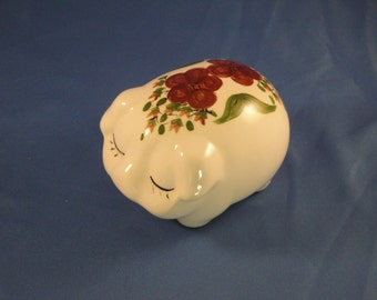 Piggy Potpourri Holder