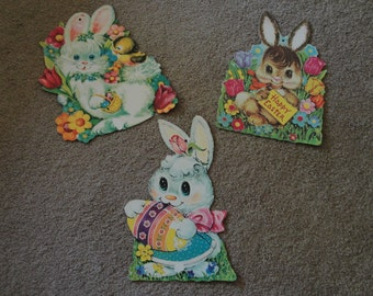 Easter Carboard Pin ups