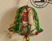 Holiday Ornament Bell PDF Sewing Pattern