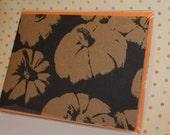 Happy Halloween Pumpkins note card