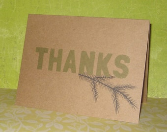 Thank You with Pine
