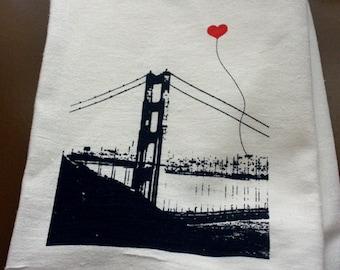 San Francisco Lover's Tea Towel