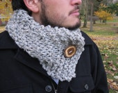 Men's scarf, men's cowl, custom color, man scarf, man cowl, gifts for guys