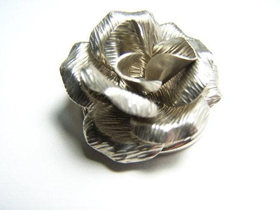 Rose Scarf Clip