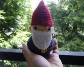 Garden Gnome Amigurumi Doll - Customize Able - Made to Order OOAK