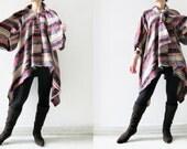 Sunshine... hand woven mix colour coat / shawl