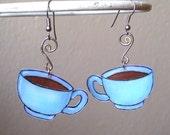 Coffee Break Whimsy earrings
