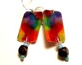 Stained Glass Artist earrings