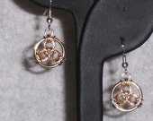 Chainmaille Trinity Earrings