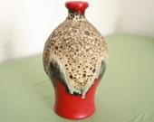 Scheurich West German Pottery vase 1959 Fat Lava
