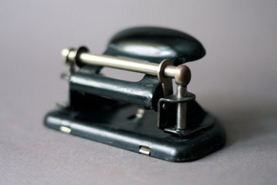 Industrial 1940s Hole Puncher by Leitz
