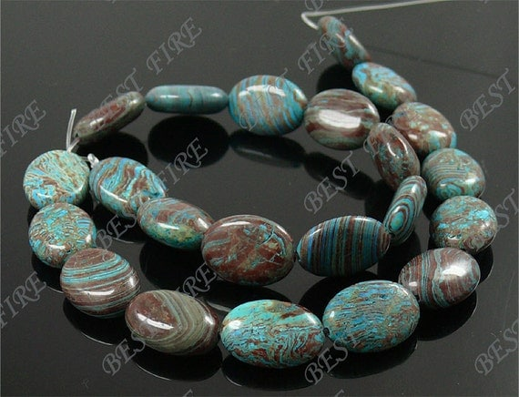 13x18mm of  blue oval gemstone  beads loose strands,blue loose semi-precious stone beads,loose beads 15.5