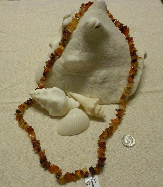 Wonderful Strand of Carnelian/Cornelian Gemstone Chip Beads