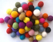 FREE GIFT Share this listing Felt Balls 100 count 20mm Felted balls by YUMMI felt beads Party Decorations