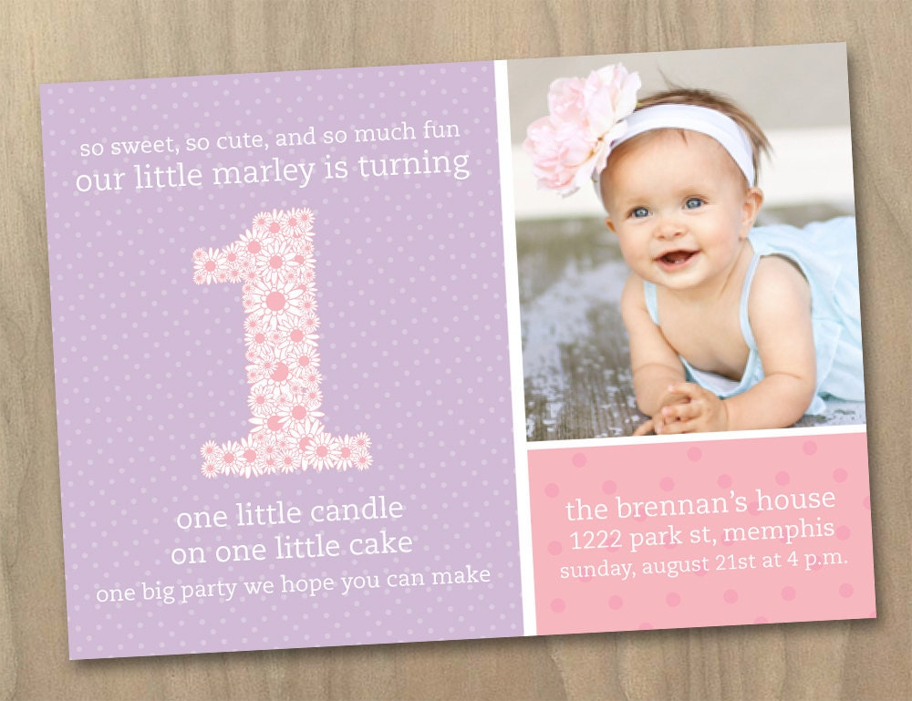 First Birthday Invite for your inspiration to make invitation template look beautiful