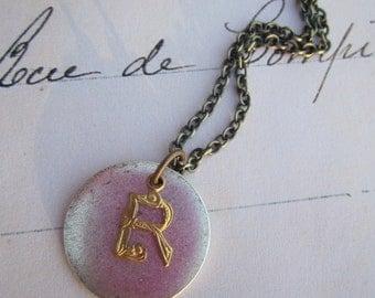 Choose Your Letter - Initial Pendant Necklace