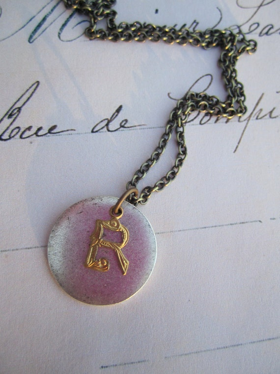 Choose Your Letter - Initial Pendant Necklace