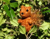 Knitted Mini Squirrel