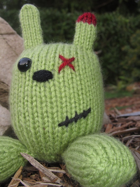 Zombie Bunny (Finished Item)